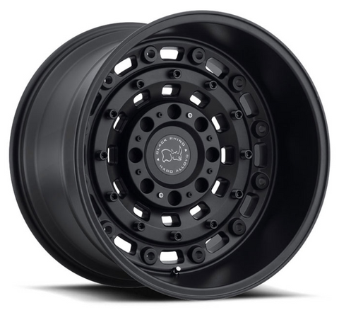 Mercedes Sprinter 2500 (2007-current) - Black Rhino Arsenal Wheel 16x8 6x130 - 52mm offset - Textured Matte Black