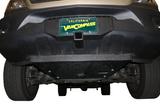 Front receiver Hitch Mercedes Sprinter with Skid Plate by Van Compass