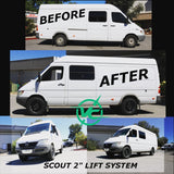 "VAN COMPASS™ SCOUT SPRINTER VAN 2.0"" SUSPENSION LIFT SYSTEM ('94-'06)"