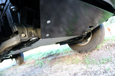 VAN COMPASS™ MERCEDES 4X4 SPRINTER ENGINE SKID PLATE (2007-CURRENT 2500 OR 3500)