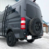 VAN COMPASS MERCEDES SPRINTER NCV3, REAR TIRE SWINGOUT (2007-2018 2500)