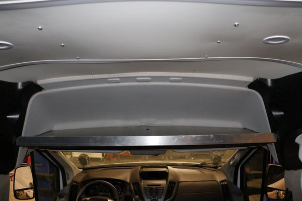 VAN COMPASS™ FORD TRANSIT HIGH ROOF OVERHEAD SHELF (2013-PRESENT)