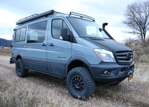 "STAGE 5 - VAN COMPASS™ STRIKER 4X4 SPRINTER 2"" LIFT KIT WITH FOX SHOCKS AND FRONT SUMO SPRINGS (2015-2018 2500 4WD SINGLE REAR WHEEL)"