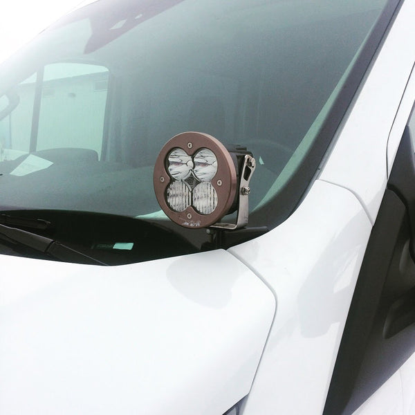 VAN COMPASS HOODLINE LIGHT POD MOUNT (TRANSIT 2013+)