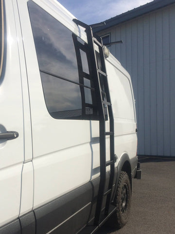 VAN COMPASS™ MERCEDES SPRINTER LADDER (2007-2018 LOW ROOF)
