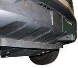 Front Hitch Receiver Mercedes Sprinter with Skid Plate by Van Compass