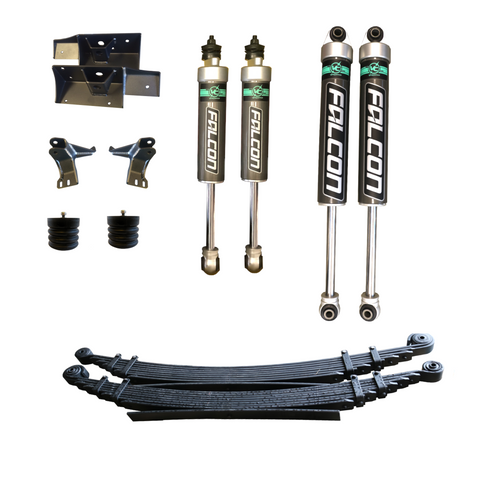 STAGE 3 - 3500 DRW - VAN COMPASS SUSPENSION PACKAGE - SPRINTER 4X4 (2007-CURRENT 3500)