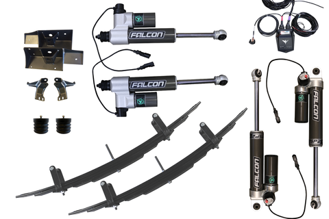 STAGE 4.5 - VAN COMPASS SUSPENSION PACKAGE WITH FALCON aDAPT e-ADJUST SHOCKS - SPRINTER 4X4 (2007-CURRENT 2500)