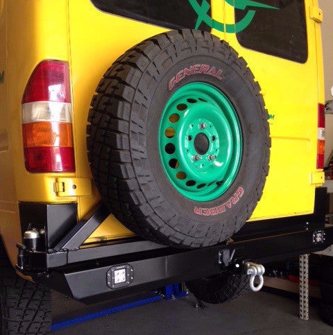 VAN COMPASS™ SPRINTER REAR BUMPER WITH SWING OUT ('94-'06)