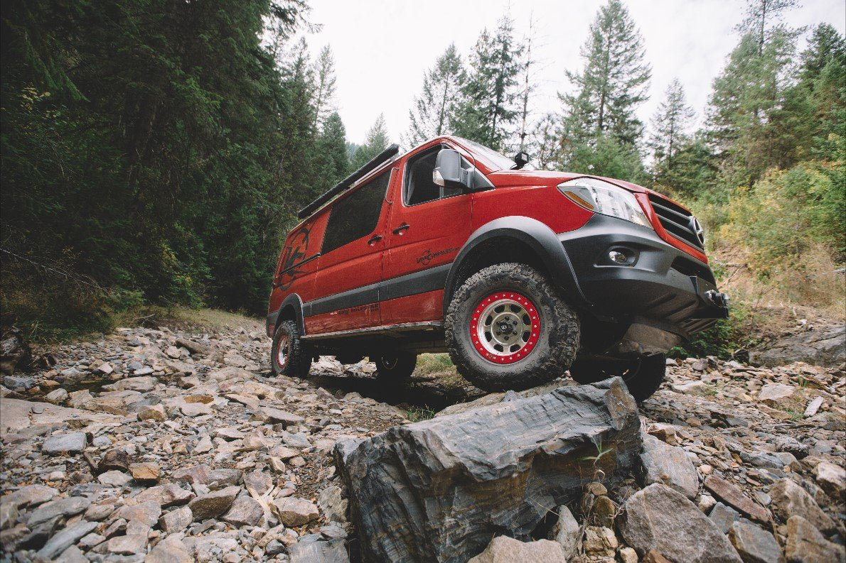 mercedes sprinter 4x4 suspension lift kit