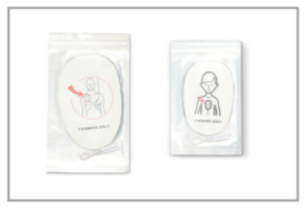 Pads, Reusable Paediatric for C Series AED Trainer