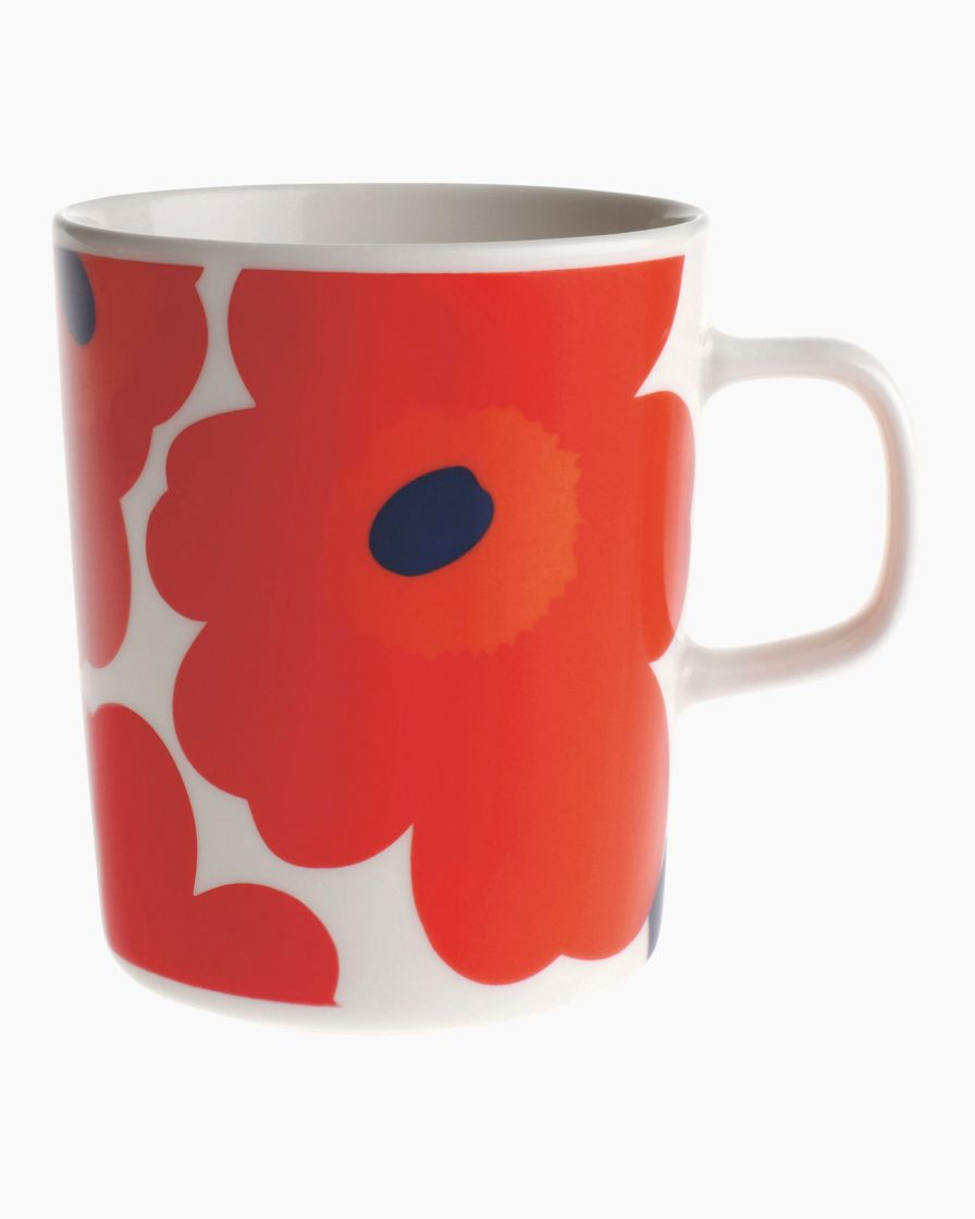 Unikko Mug in Red