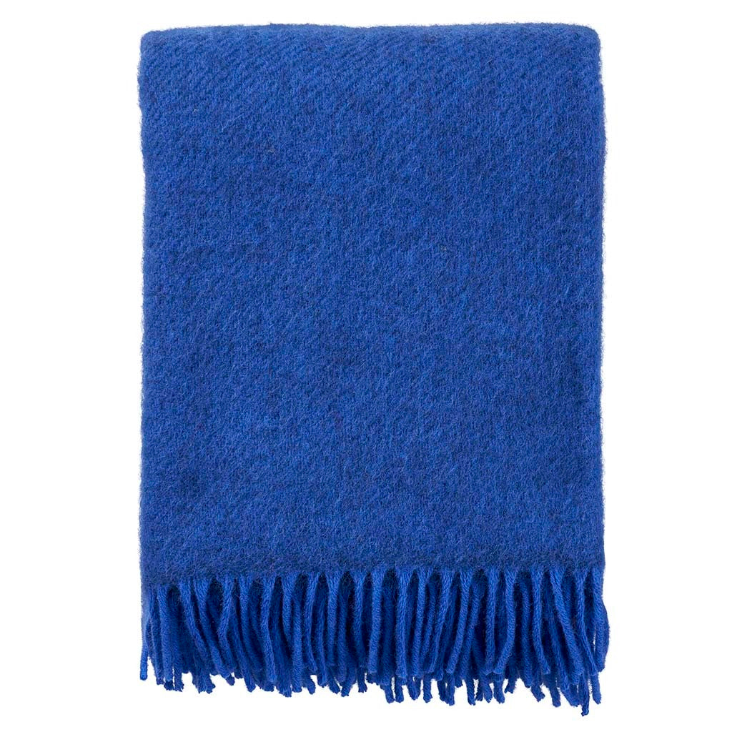 Gotland Wool throw | Blue