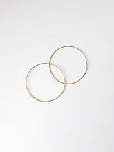 Load image into Gallery viewer, Hoop Earrings Gold | 50mm and 70mm