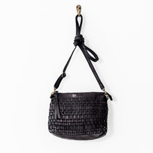 Load image into Gallery viewer, Woven Pouch Bag | Black