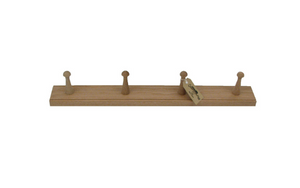 Oak Peg Coat Rack