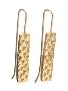 Triangle Texture  Earrings