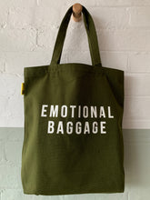 Load image into Gallery viewer, Emotional Baggage tote bag