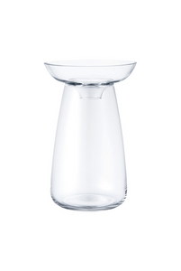 Aqua Culture Vase | Large transparent