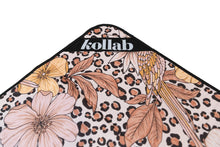 Load image into Gallery viewer, Picnic Mat Leopard Floral