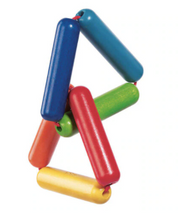 Load image into Gallery viewer, Haba Rattle and Clutching Wooden Toy