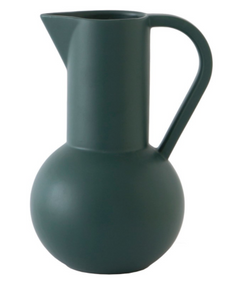 Raawii Strøm Small Pitcher - Green