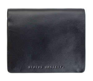 Status Anxiety 'Nathaniel' Black Men's Wallet