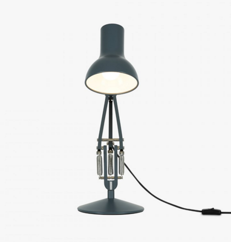 Angelpoise Mini Desk Lamp (Slate Grey)