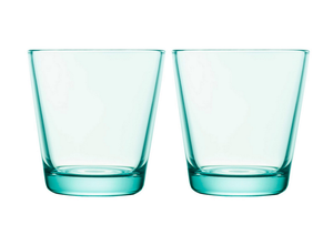 Iittala Kartio Tumblers (Set of 2) in Water Green