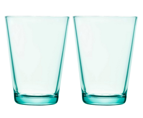 Iittala Kartio Highball Glass (Set of 2) in Water Green