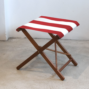 Folding Stool - Block Stripe