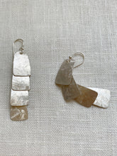 Load image into Gallery viewer, Armadillo Silver Drop Earrings
