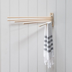 Vintage Wall Drying rack | Beech wood