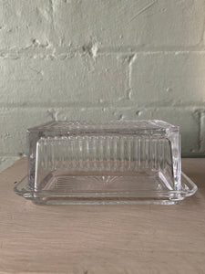 Butter Dish | Glass