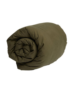 Organic Canvas Duvet | Khaki | Queen