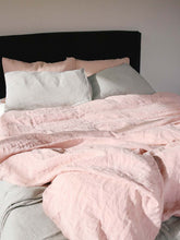 Load image into Gallery viewer, Linen Bed Set | Rosewater & Sea Storm