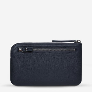 Smoke and Mirrors Wallet | Navy Blue