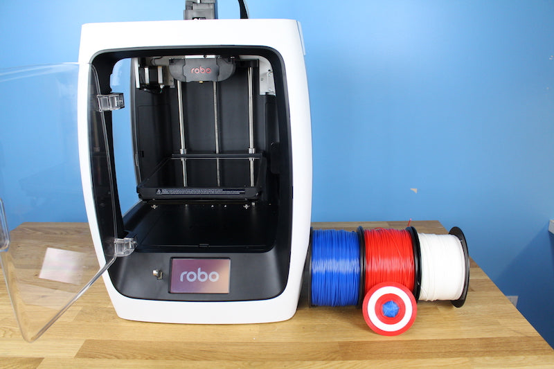 3D Printing Post Processing #3: Printing multi-colored 3D prints