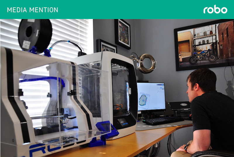 Robo 3D Reports 67% Increase in 3D Printer Sales, Optimistic for Future