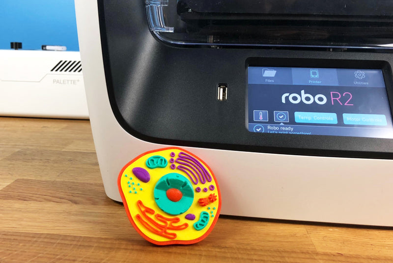 Multi Color 3D Printing with Palette+