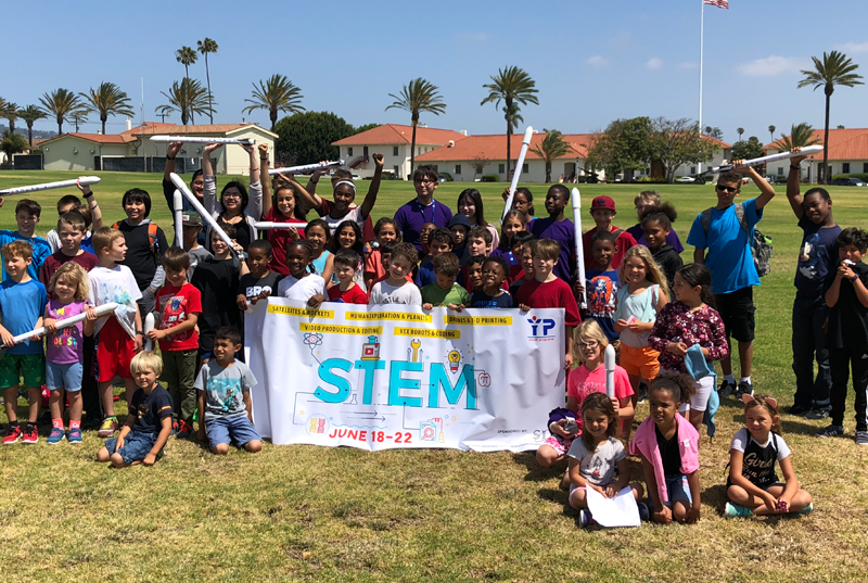Robo Sponsors STEM Space Camp