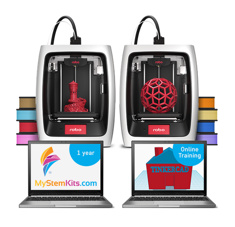 MyStemKits R2 Bundle - School License 8 Teachers, Unlimited