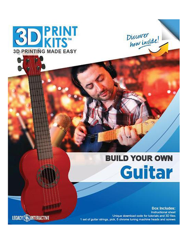 """Rock Out"" Guitar 3D Print Kit"