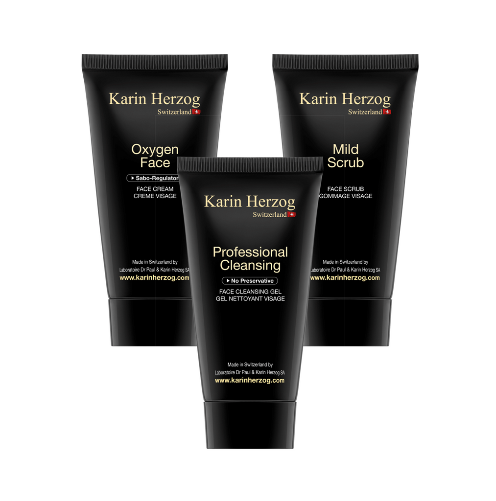 Kate's Favourites - Mild Scrub, Professional Cleanser & Free Oxygen Face Cream