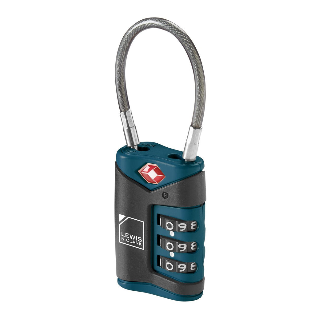 Lewis N. Clark | Travel Sentry Cable Lock - Index Urban