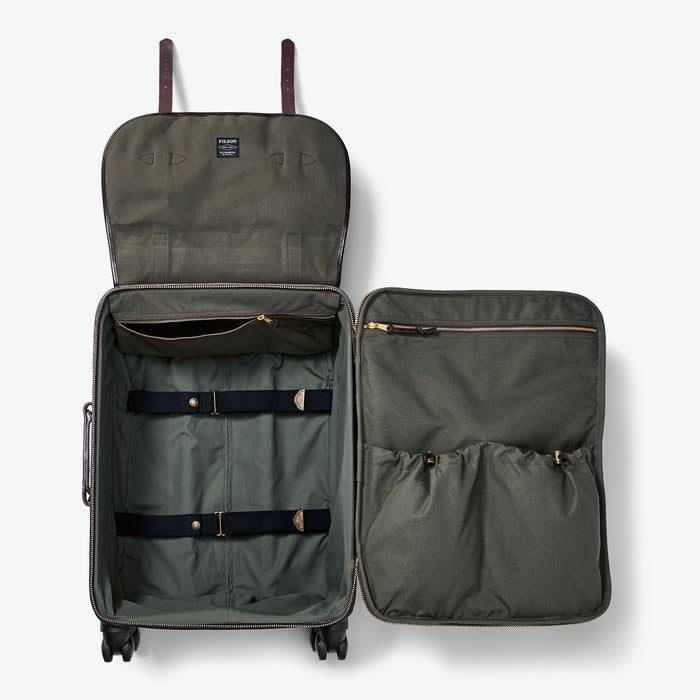 Filson |  Rugged Twill Rolling 4-Wheel Check-In Bag - Index Urban