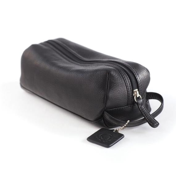 Small Leather Travel Kit - Index Urban
