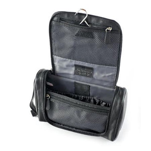 Hanging Leather Toiletry Kit - Index Urban