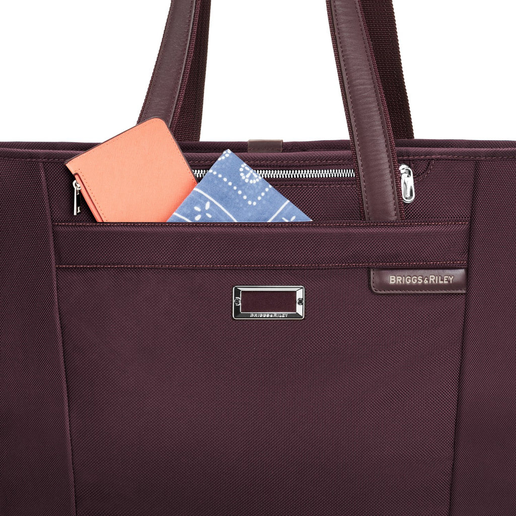 Briggs & Riley | Limited Edition Large Shopping Tote | Plum