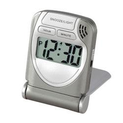 LCD Travel Alarm Clock - Index Urban
